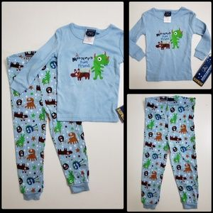CANDLE STICKS Piece Pajama Set Size 24M NWT